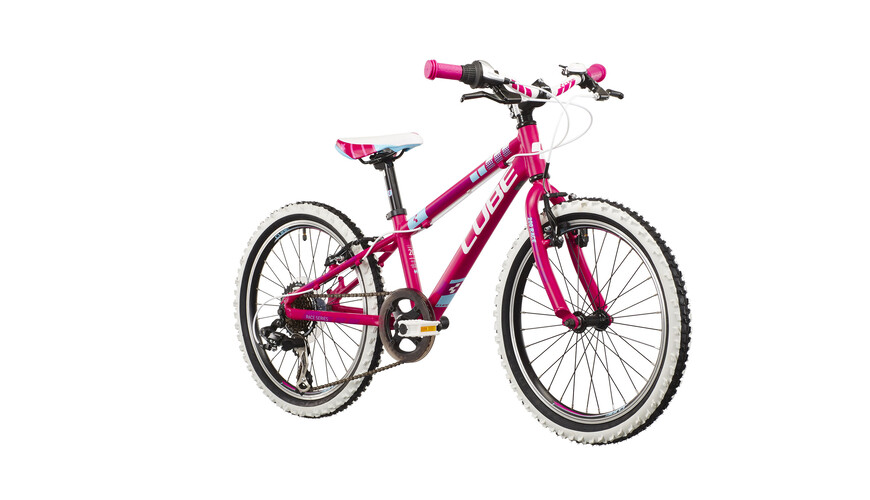 Cube Kid 200 kinderfiets Kinderen roze